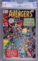 Avengers #76 CGC 9.8 w