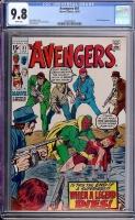 Avengers #81 CGC 9.8 w