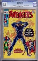 Avengers #87 CGC 9.8 ow/w