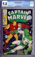 Captain Marvel #14 CGC 9.8 ow/w