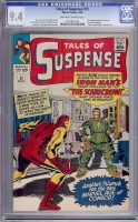 Tales of Suspense #51 CGC 9.4 ow/w