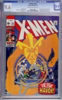 X-Men #58 CGC 9.6 ow/w