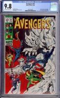 Avengers #61 CGC 9.8 ow/w