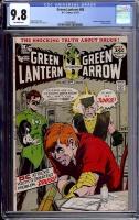 Green Lantern #85 CGC 9.8 ow