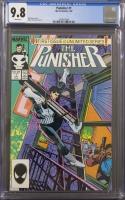 Punisher #1 CGC 9.8 w