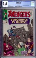 Avengers #20 CGC 9.4 ow/w