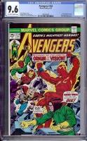 Avengers #134 CGC 9.6 ow/w