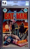 Batman #244 CGC 9.6 ow/w