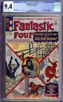 Fantastic Four #17 CGC 9.4 w