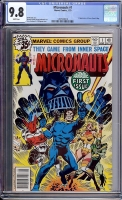 Micronauts #1 CGC 9.8 w