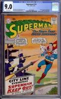 Superman #130 CGC 9.0 ow