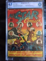 All Star Comics #11 CBCS 4.5 ow/w