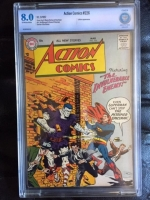 Action Comics #226 CBCS 8.0 ow/w
