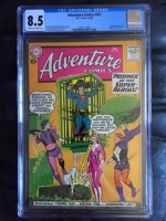 Adventure Comics #267 CGC 8.5 cr/ow
