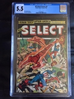 All Select Comics #8 CGC 5.5 ow/w