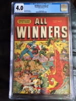 All Winners Comics #7 CGC 4.0 cr/ow