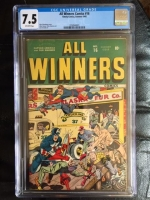 All Winners Comics #16 CGC 7.5 ow