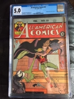All-American Comics #23 CGC 5.0 cr/ow