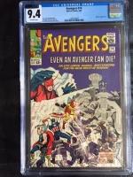 Avengers #14 CGC 9.4 ow