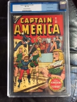 Captain America Comics #62 CGC 7.5 cr/ow