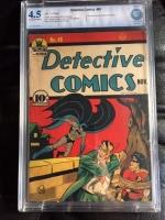 Detective Comics #45 CGC 4.5 cr/ow