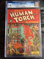 Human Torch #6 CGC 7.0 ow