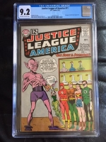Justice League of America #11 CGC 9.2 ow/w