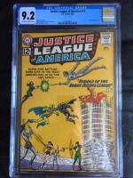 Justice League of America #13 CGC 9.2 ow/w
