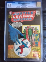 Justice League of America #14 CGC 8.0 cr/ow