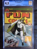More Fun Comics #57 CGC 4.5 cr/ow