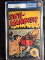 Sub-Mariner Comics #21 CGC 8.0 cr/ow