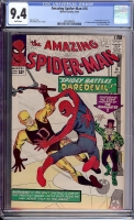 Amazing Spider-Man #16 CGC 9.4 w