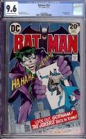 Batman #251 CGC 9.6 ow/w