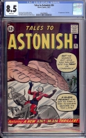 Tales to Astonish #36 CGC 8.5 w