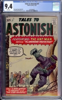 Tales to Astonish #37 CGC 9.4 w