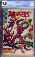 Avengers #55 CGC 9.8 w