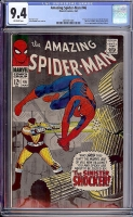 Amazing Spider-Man #46 CGC 9.4 ow