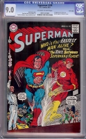 Superman #199 CGC 9.0 ow/w Twin Cities