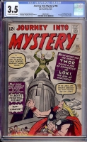 Journey Into Mystery #85 CGC 3.5 ow/w