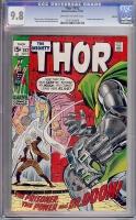 Thor #182 CGC 9.8 ow/w Oakland