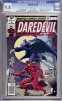 Daredevil #158 CGC 9.8 w