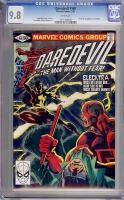 Daredevil #168 CGC 9.8 w