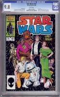 Star Wars #107 CGC 9.8 w