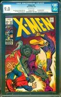 X-Men #53 CGC 9.0 ow