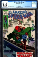 Amazing Spider-Man #90 CGC 9.6 ow/w