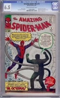 Amazing Spider-Man #3 CGC 6.5 cr/ow