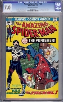 Amazing Spider-Man #129 CGC 7.0 ow/w