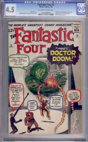 Fantastic Four #5 CGC 4.5 ow/w