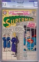 Superman #108 CGC 7.5 ow/w