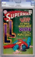Superman #204 CGC 9.4 ow